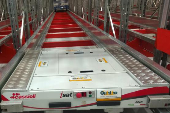 COTO inauguró un nuevo almacén automático refrigerado dearrollado por Quintino