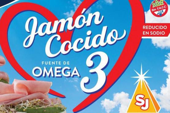 Alimentos San José creó el primer jamón cocido con Omega3