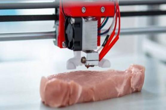 Crean el primer bife de carne cultivada con una impresora 3D