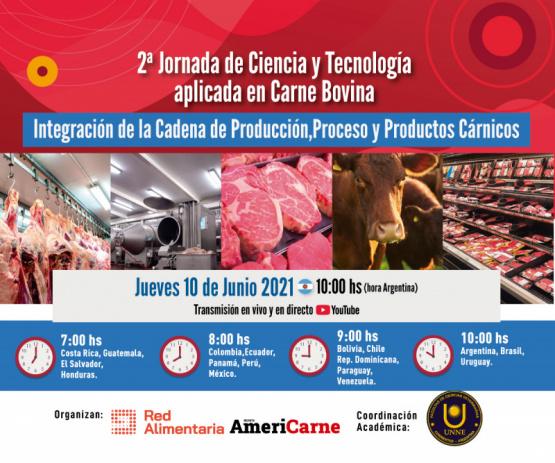 2ª Jornada de Ciencia y Tecnología aplicada en Carne Bovina