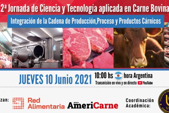 Red Alimentaria invita a la 2da Jornada de Ciencia y Tecnología Aplicada en Carne Bovina