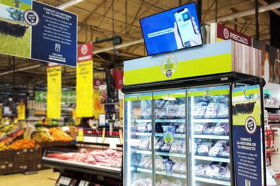 Carrefour Argentina incorpora tecnología blockchain en sus cortes de carne Huella Natural