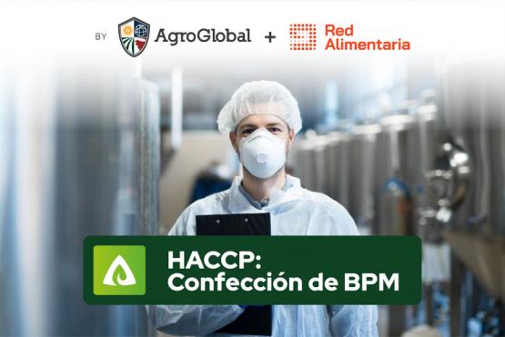 """Curso virtual """"HACCP: Confección de manual BPM y adaptación de protocolos post COVID 19""""."""